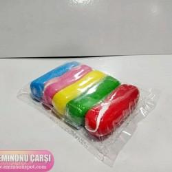 Aybil  Şeker Hamuru 5 Renk Birarada