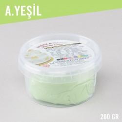 Şeker Sugar Açık Yeşil Şeker Hamuru (200 Gr)