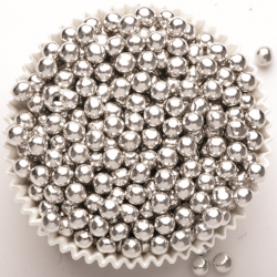 Dr Gusto 4mm Choco Balls Silver Gümüş Çikolata 80gr