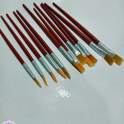 Gıda Boyama Fırçaları 12li Set