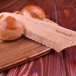 Bambum Ahşap Ekmek Bıçağı