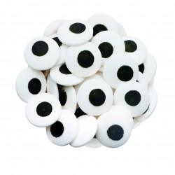 Beyaz Göz Yenilebilir Süsleme Şekerleri