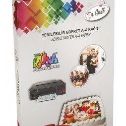 Dr Gusto Yenilebilir Pasta Gofret Kağıdı A4 24lü