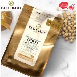 Callebaut Gold Karamelli Damla Çikolata 2.5 kg