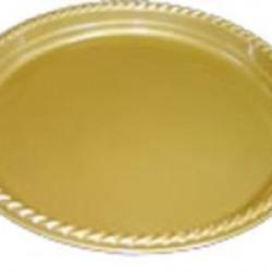Altın Karton Parti Tabakları 8 adet