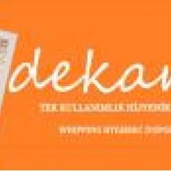 Dekamis Tek Kullanımlık Krema Torbası 72 Adet