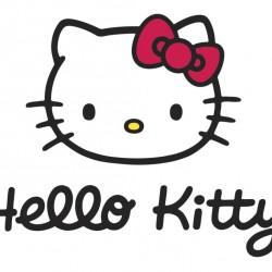 Hello Kitty Yazılı Yenilebilir Pasta Resim Baskısı