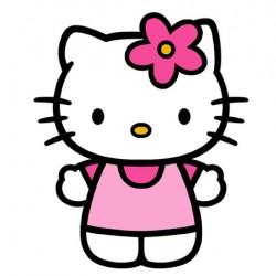 Hello Kitty Yenilebilir Pasta Resim Baskısı