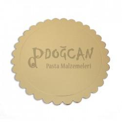 Pasta Altlığı Altın Gold 22 cm